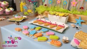 עוגיות מעוצבות ארטיק וגלידה לשולחן מעוצב