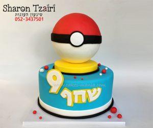 עוגת פוקימון פוכדור
