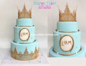 עוגת כתר זהב