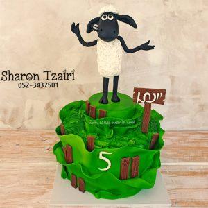 עוגת שון הכבשון 2