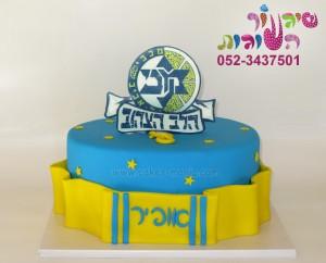 עוגת סמל מכבי תל אביב