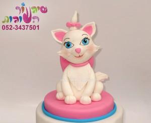 עוגת החתולה מארי תקריב