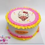 עוגת קיטי מודפסת 2
