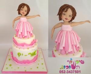 עוגה לתינוקת