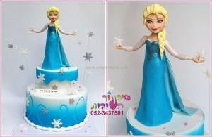 עוגת פרוזן אלזה 1