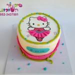 עוגת קיטי מודפסת
