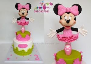 עוגת מינימאוס בלרינה