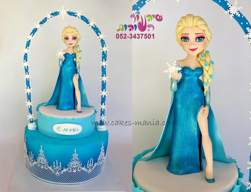 עוגת פרוזן עוגת אלזה