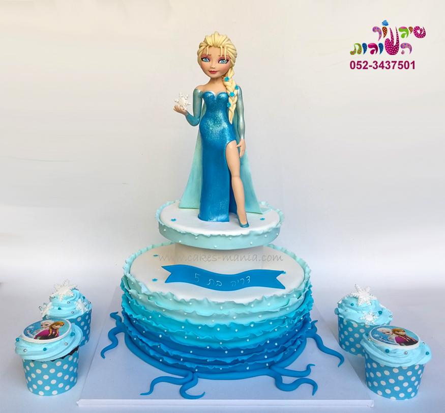 עוגת פרוזן אלזה (8)