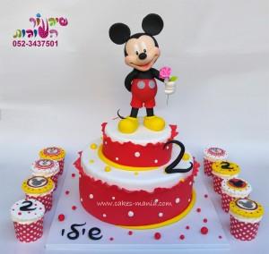 עוגת מיקי מאוס לשיילי
