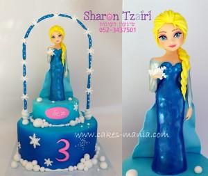 עוגת פרוזן אלזה 11