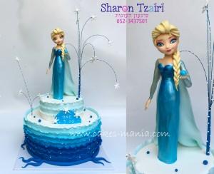 עוגת פרוזן אלזה 10