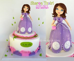 עוגת נסיכה סופיה 3