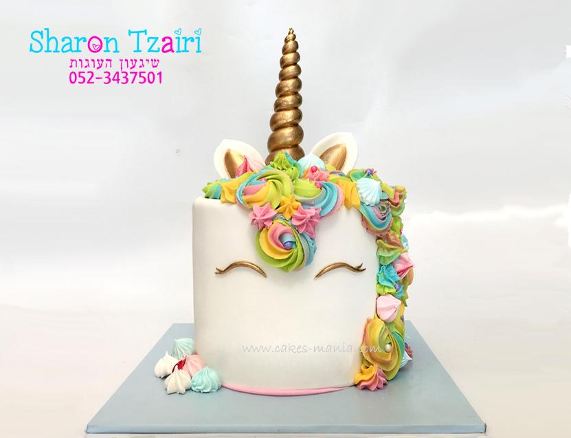 עוגת חד קרן מיוחדת