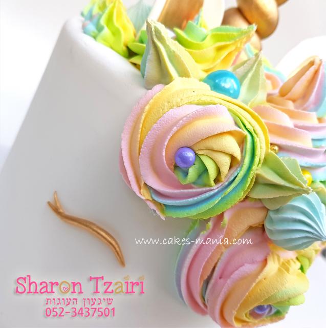 עוגת חד קרן - 4