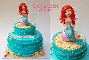עוגת בת הים הקטנה 4