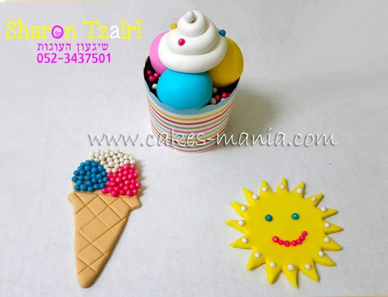 הפעלה מתוקה ליום הולדת לילדים בנושא קיץ וגלידה