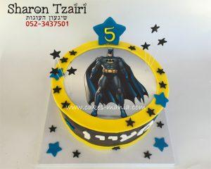 """עוגת באטמן משודרגת 270 ש""""ח"""