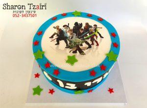 """עוגת מלחמת הכוכבים - 250 ש""""ח"""