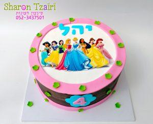 עוגת נסיות דיסני בזול