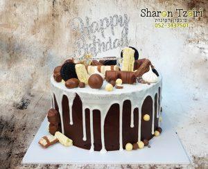עוגת שוקולדים מושחתת