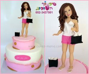 עוגה לחובבת שופינג