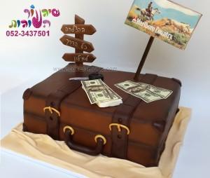 עוגת מזוודה המרוץ למיליון