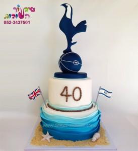 עוגת יום הולדת ים וטוטנהם