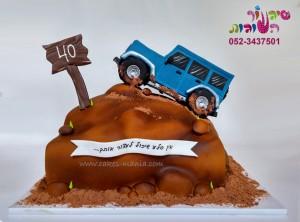 עוגת ג'פ שטח תלת מימד