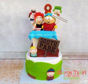 עוגת סאות'פארק sauth park cake