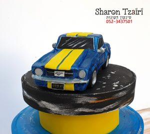 עוגת פורד אספנות ליום הולדת 50