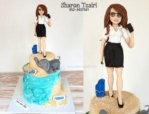 עוגה לעורכת דין שחולמת על תאילנד