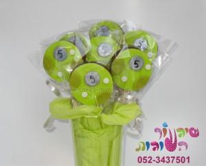 סוכריות פרחים מבצק סוכר בן 10