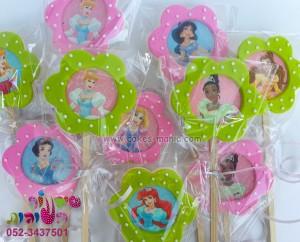 עציץ עוגיות פרחים ענק נסיכות דיסני