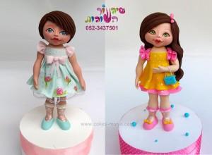פיסול ילדה מבצק סוכר