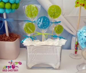 שולחן מתוק ליום הולדת בועות סבון