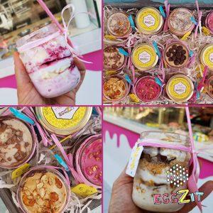 מארז קינוחי גלידה חגיגי בטעמים לבחירה