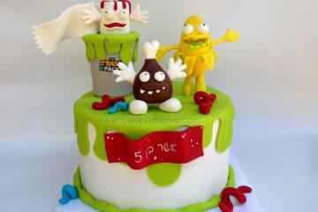 עוגות יום הולדת לבנים